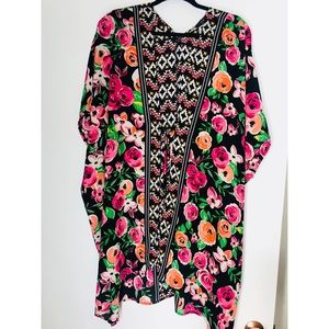 Floral Bathing Suit Cover-Up